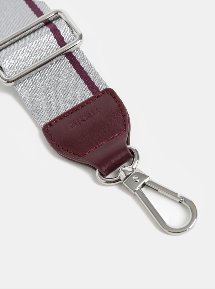 Popruh ve stříbrné barvě BREE Cl 902