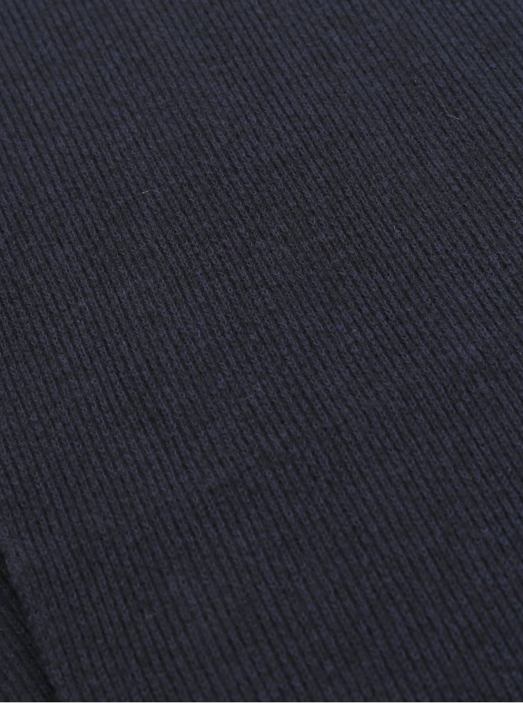 Fular barbatesc albastru inchis Superdry
