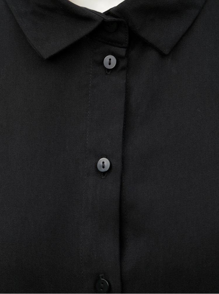 Čierna košeľa AWARE by VERO MODA Edinburgh