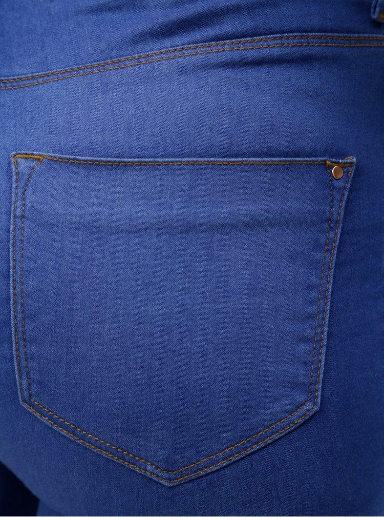 Modré super skinny džíny Dorothy Perkins Frankie