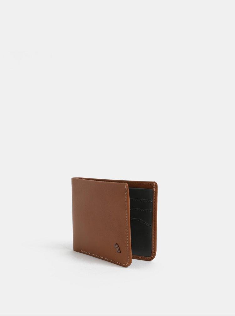 Hnědá pánská kožená peněženka Bellroy