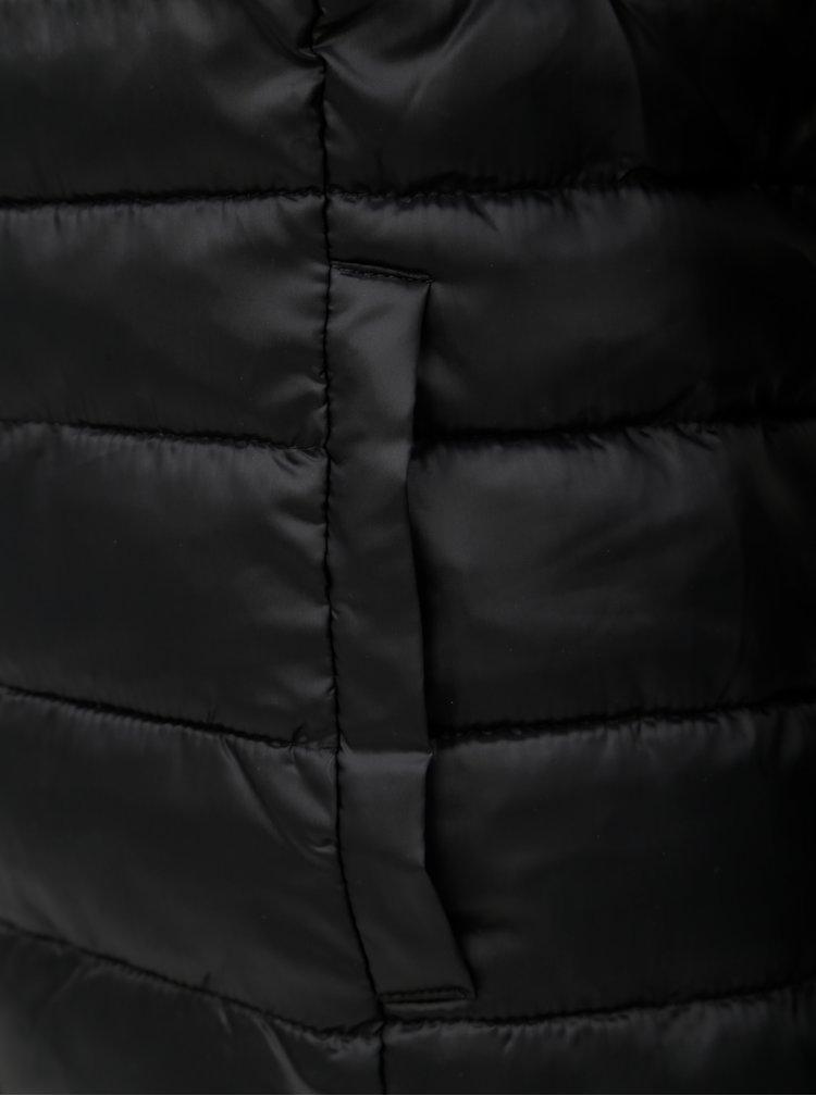 Jacheta neagra matlasata ONLY