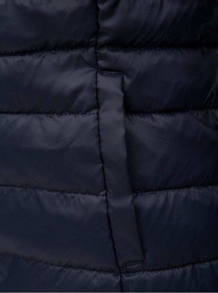 Tmavě modrá prošívaná bunda ONLY Tahoe