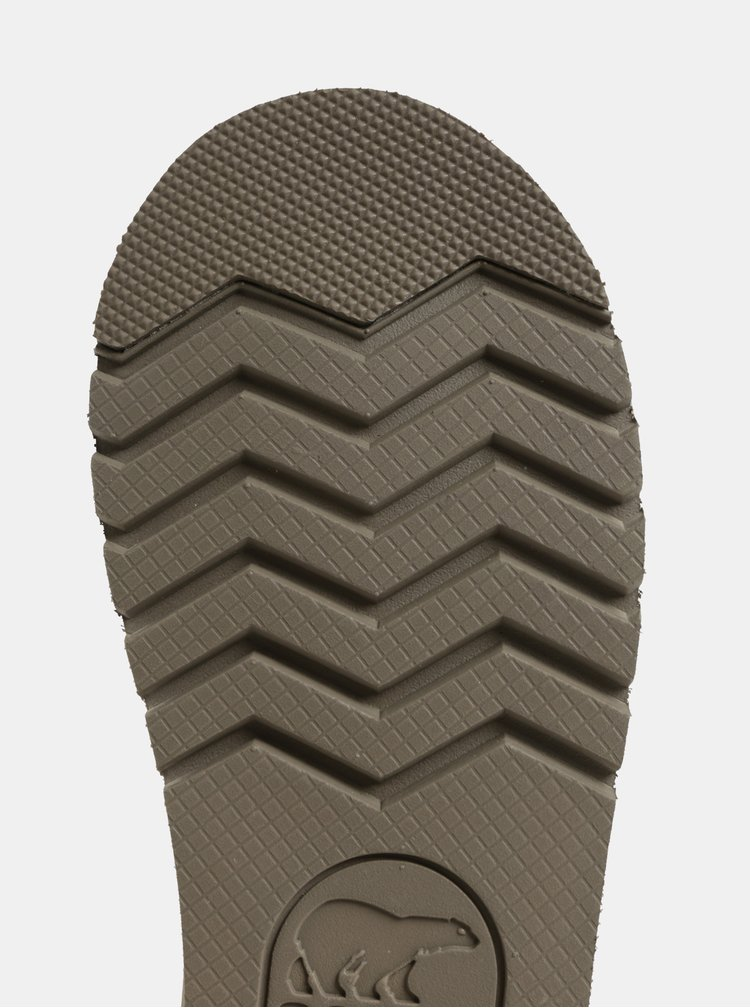 Šedé dámské semišové zimní boty SOREL Newbie