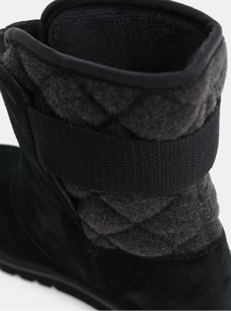 Čierne dámske semišové zimné topánky SOREL Newbie