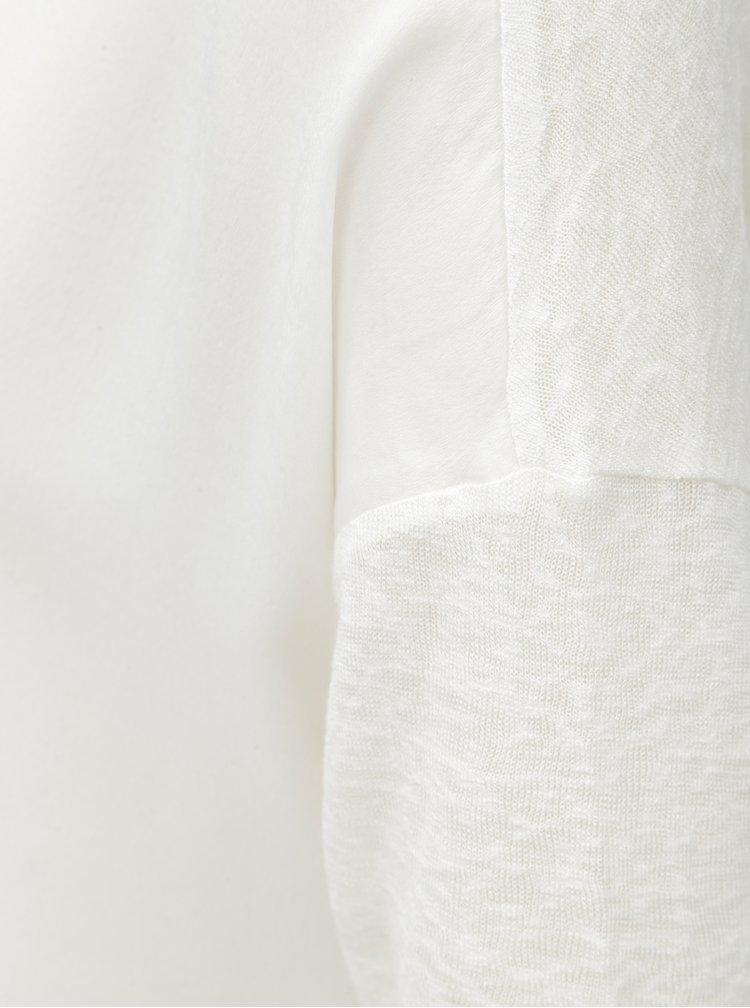 Biela blúzka s 3/4 rukávom ONLY Bern