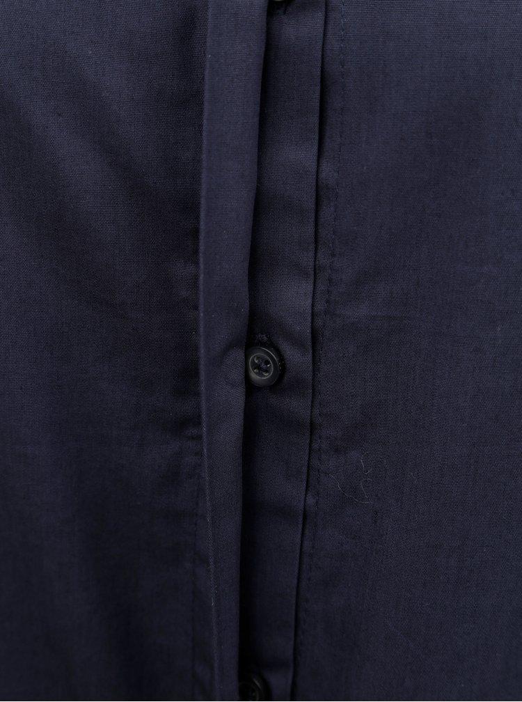 Camasa albastru inchis Jacqueline de Yong Lima