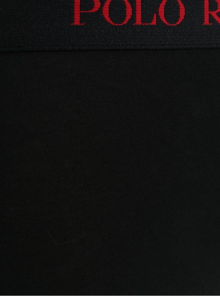 Sada tří boxerek v červené, šedé a černé barvě POLO Ralph Lauren