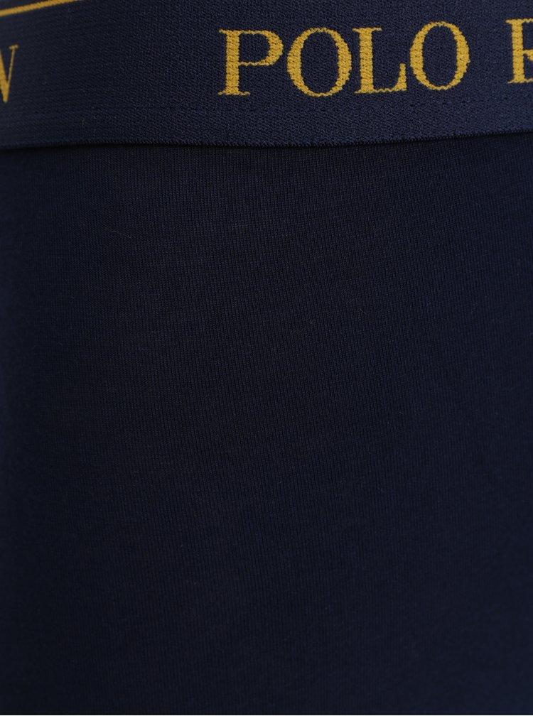 Sada tří boxerek v tmavě modré a žluté barvě POLO Ralph Lauren