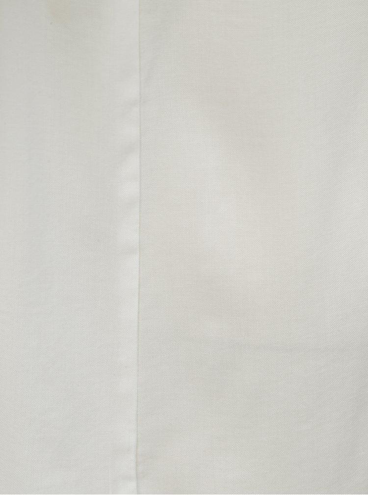 Bílá volná halenka s krátkým rukávem ONLY First