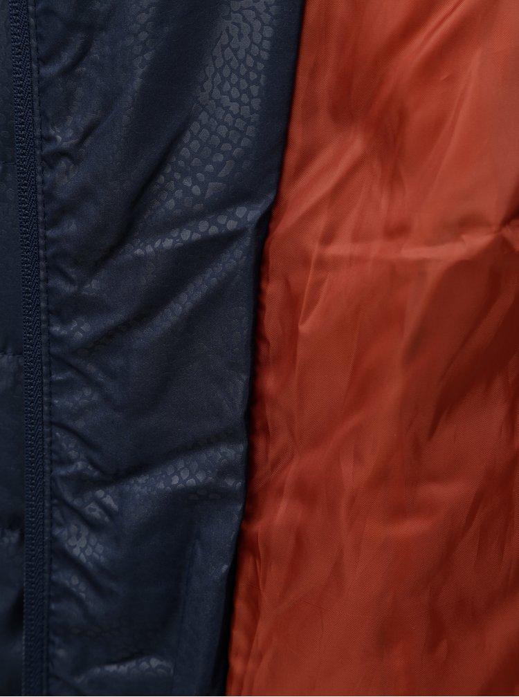 Modrá zimní prošívaná bunda Ulla Popken