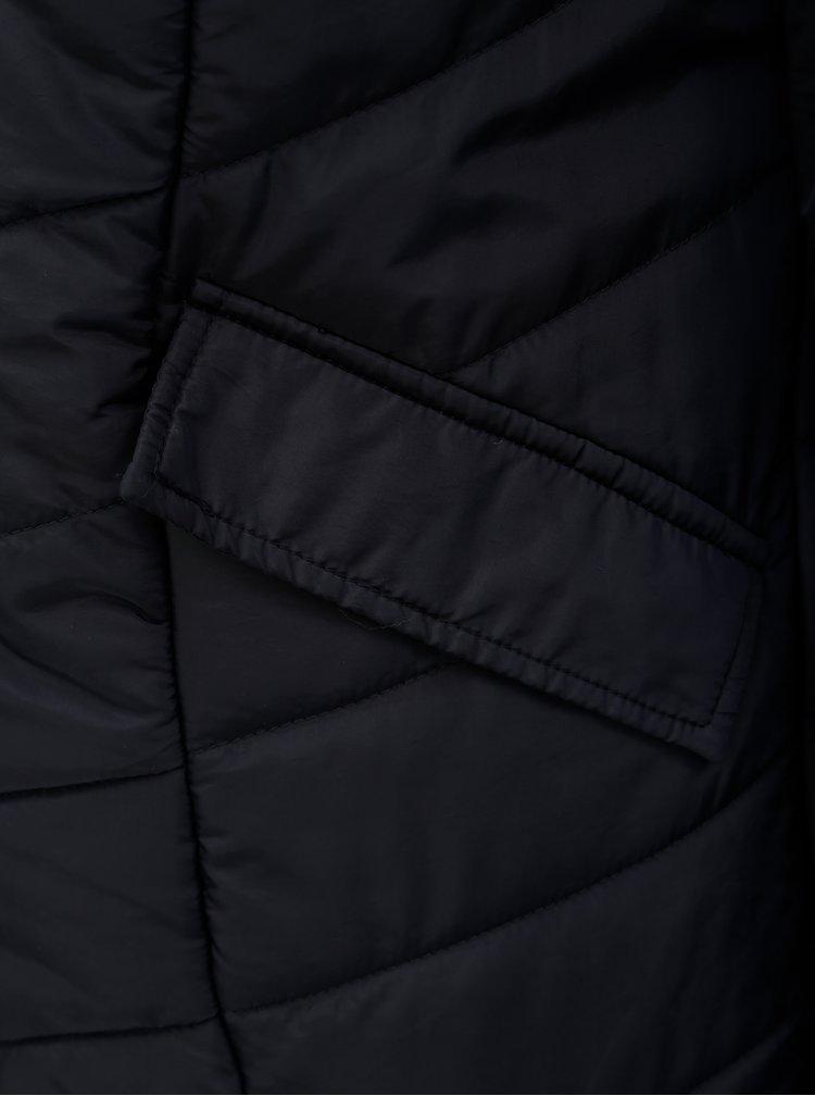 Modrý prešívaný kabát Ulla Popken