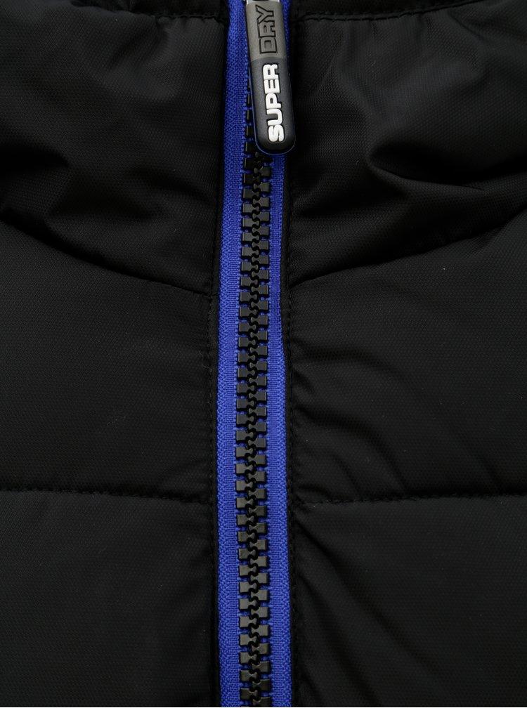 Černá pánská zimní bunda Superdry