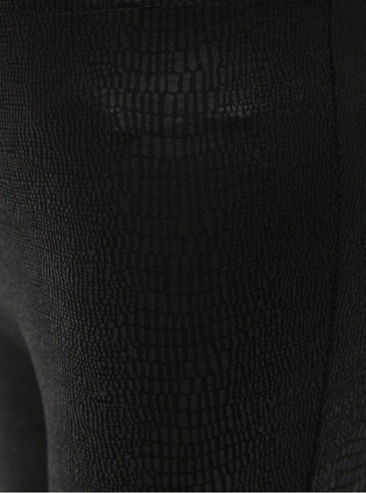 Černé holčičí vzorované legíny Name it Sijona