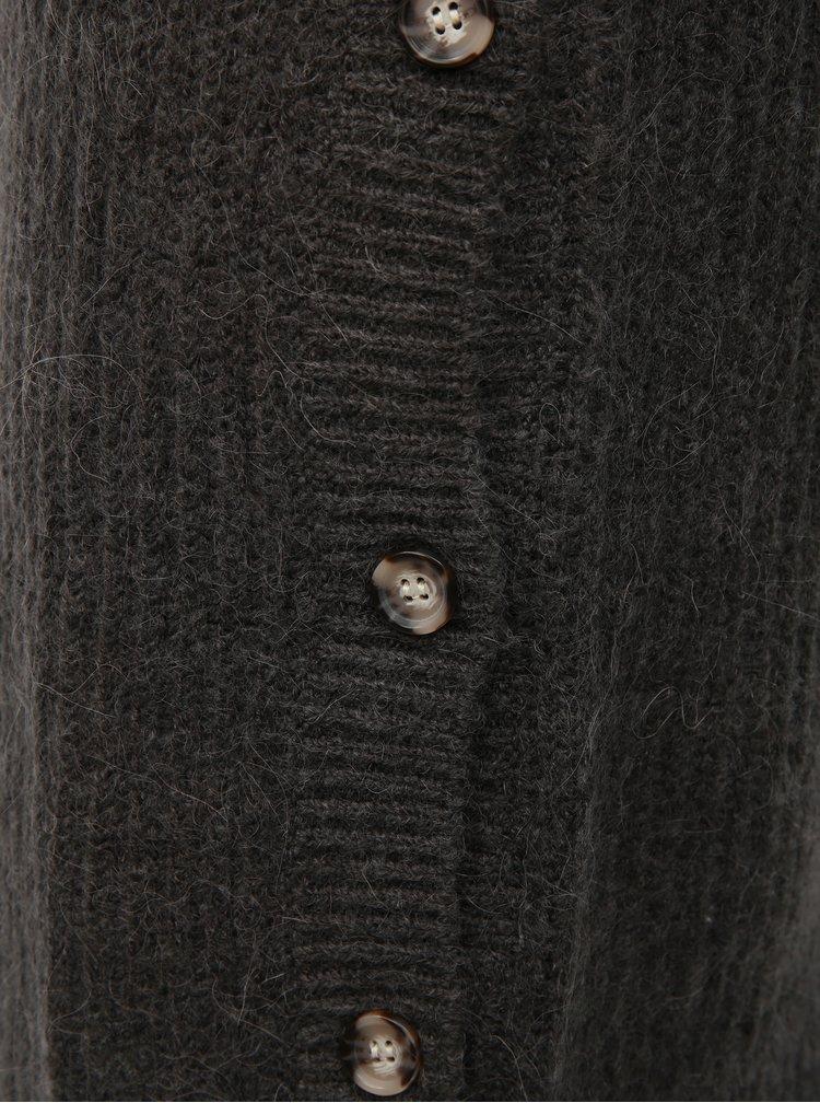 Šedé svetrové  šaty VERO MODA Melisa