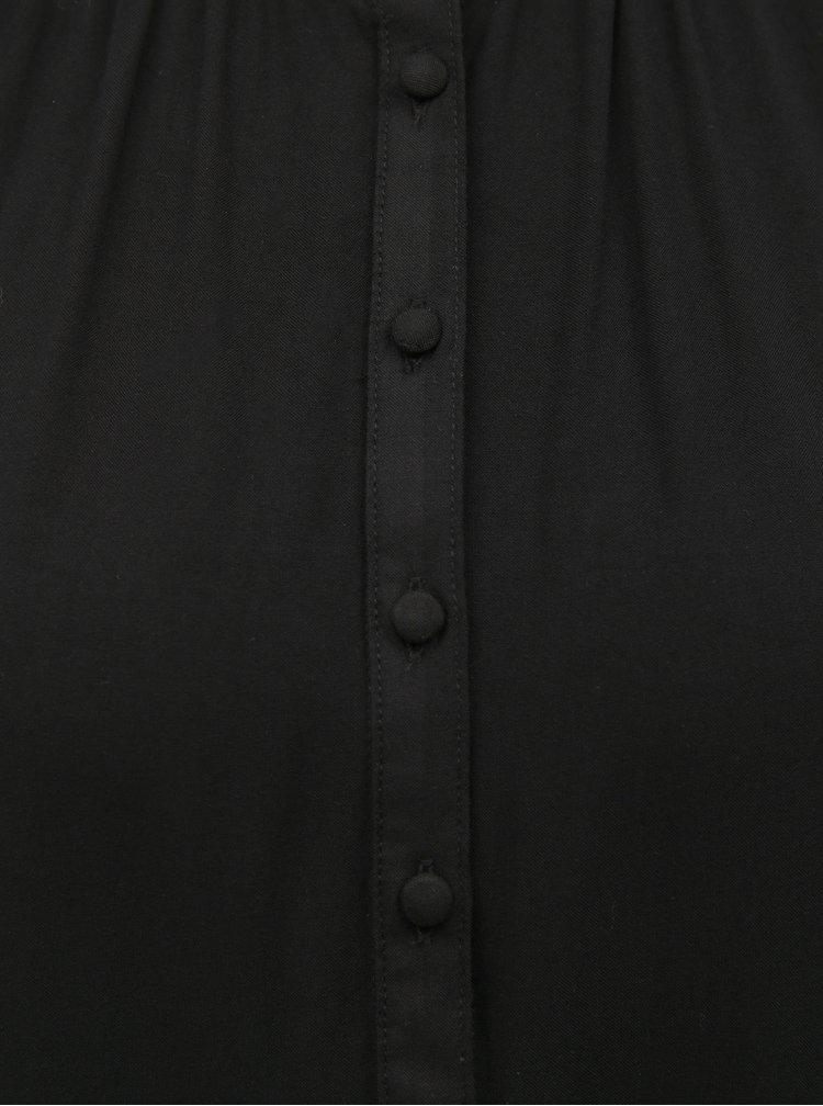 Černá volná halenka Jacqueline de Yong