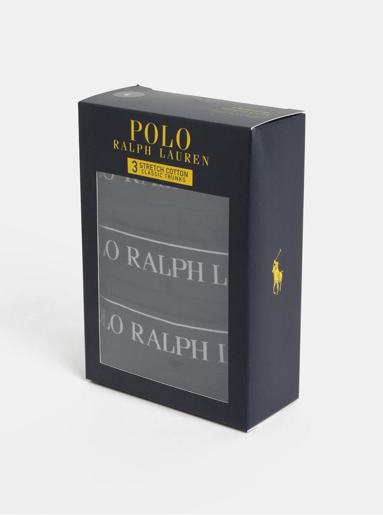 Balenie troch boxeriek v čiernej farbe POLO Ralph Lauren