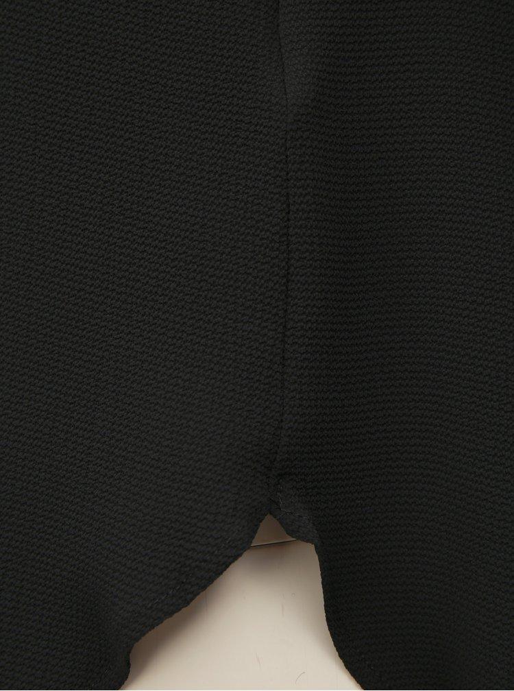 Čierna blúzka so zipsom v zadnej časti ONLY Vic