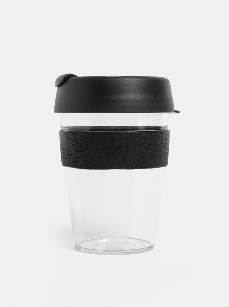 Cana neagra de calatorie KeepCup Original medium 340 ml