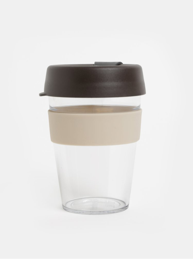 Cana gri-maro de calatorie KeepCup Original medium 340 ml