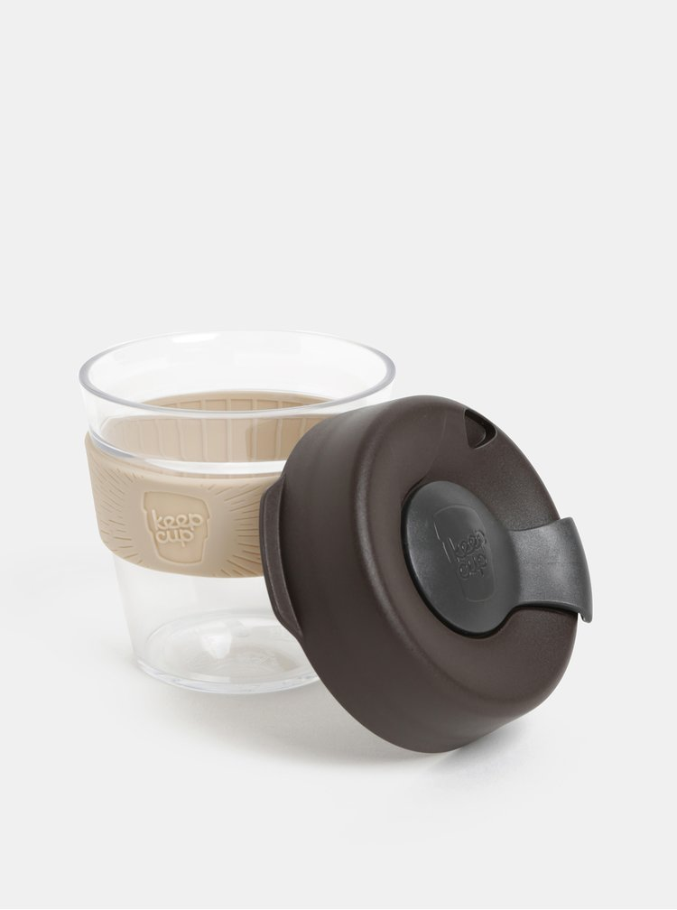 Cana gri-maro de calatorie KeepCup Original small 227 ml