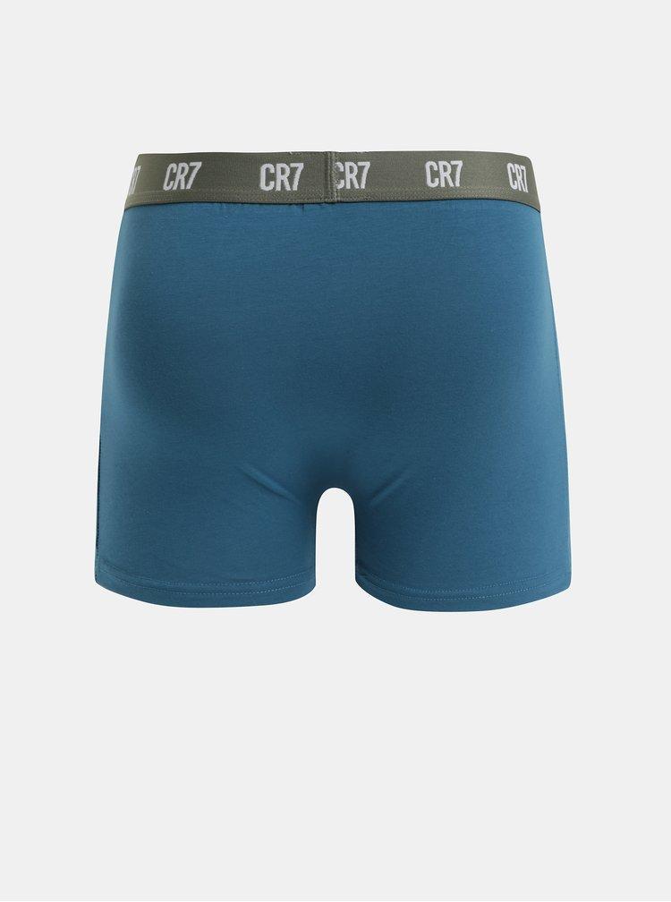 Balenie troch boxeriek v sivej a modrej farbe CR7