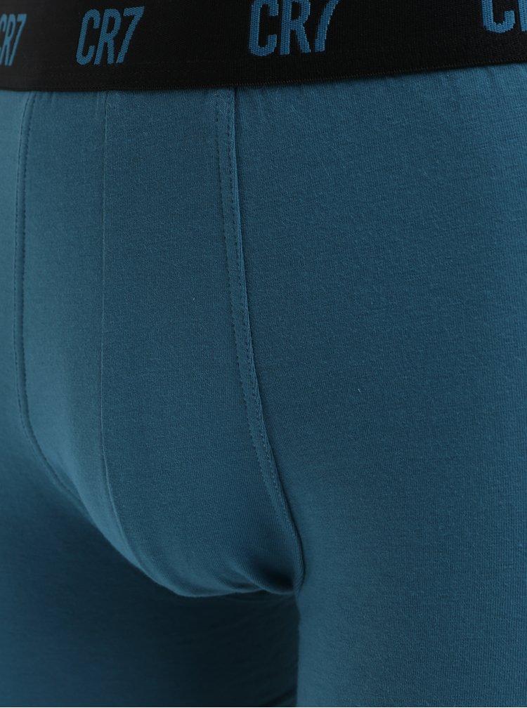 Set de 3 boxeri gri, albastri si negri CR7