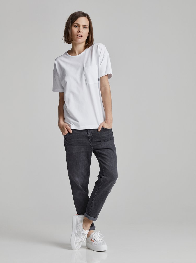 Bílé dámské tričko Makia