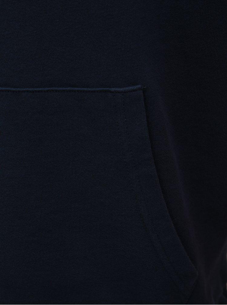 Modro–červená pánska pruhovaná mikina s nápsiom Levi's®