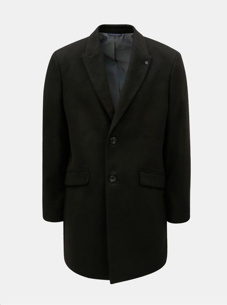 Čierny pánsky kabát Burton Menswear London