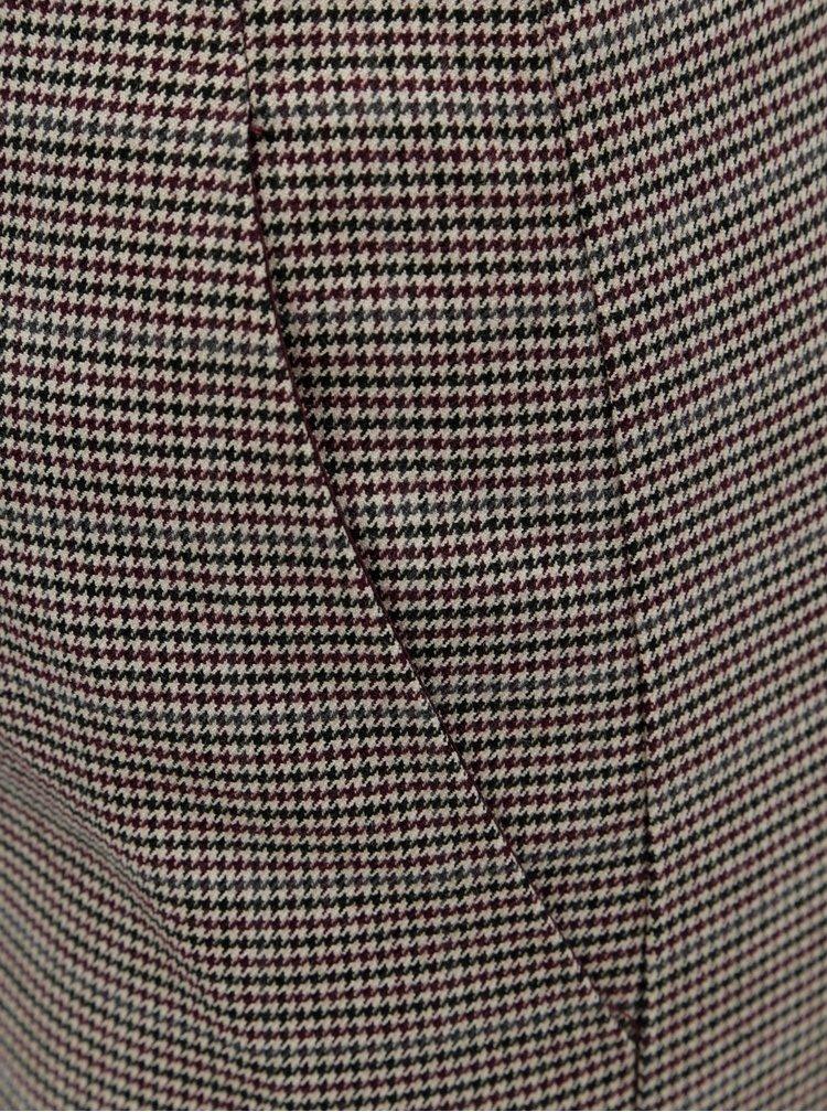 Béžová vzorovaná sukně VILA Olau