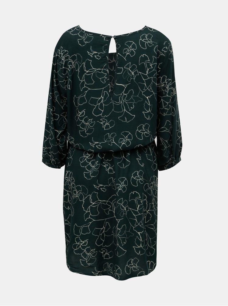Rochie verde cu model si cordon Jacqueline de Yong King