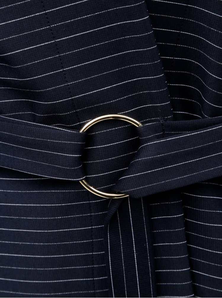 Modré vzorované kimono ELVI