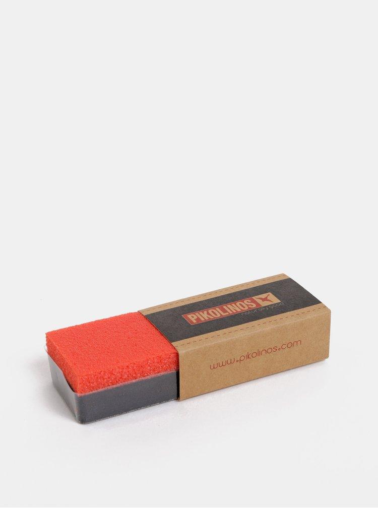 Botine maro din piele Pikolinos Stone