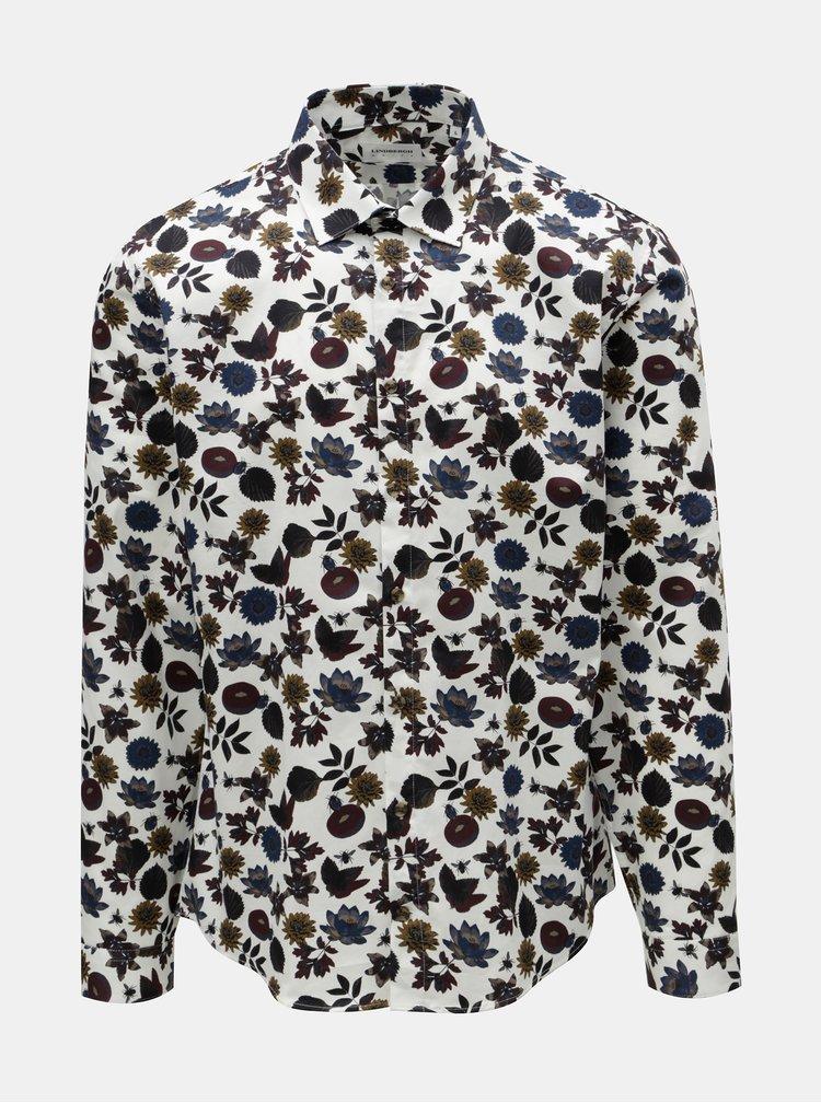 Modro-bílá vzorovaná košile J.Lindeberg Dani  8a79aeb677