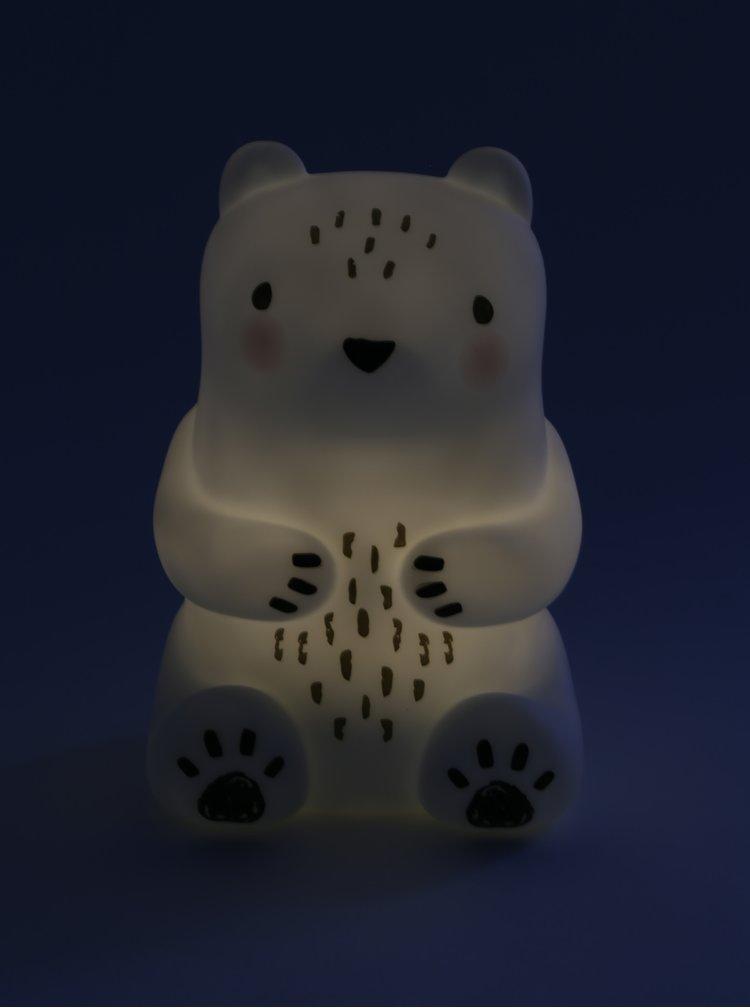 Lampa alba in forma de urs Sass & Belle