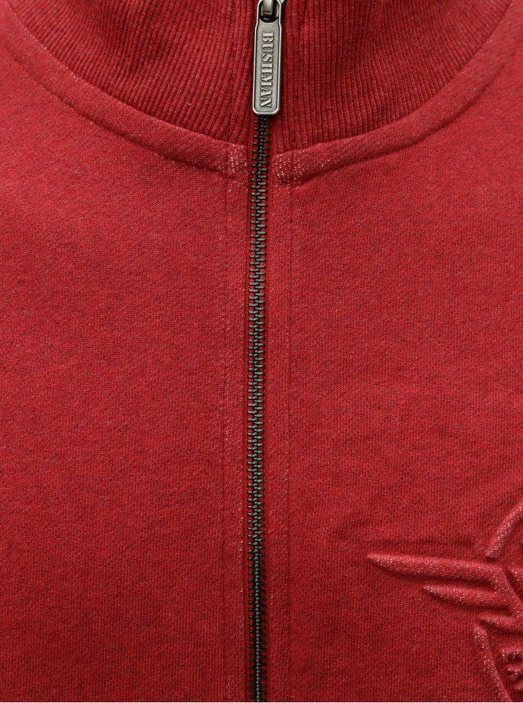 Bluza sport barbateasca rosie BUSHMAN Riverdale