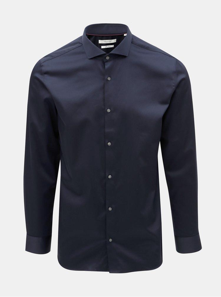 Tmavě modrá košile Jack & Jones Comfort