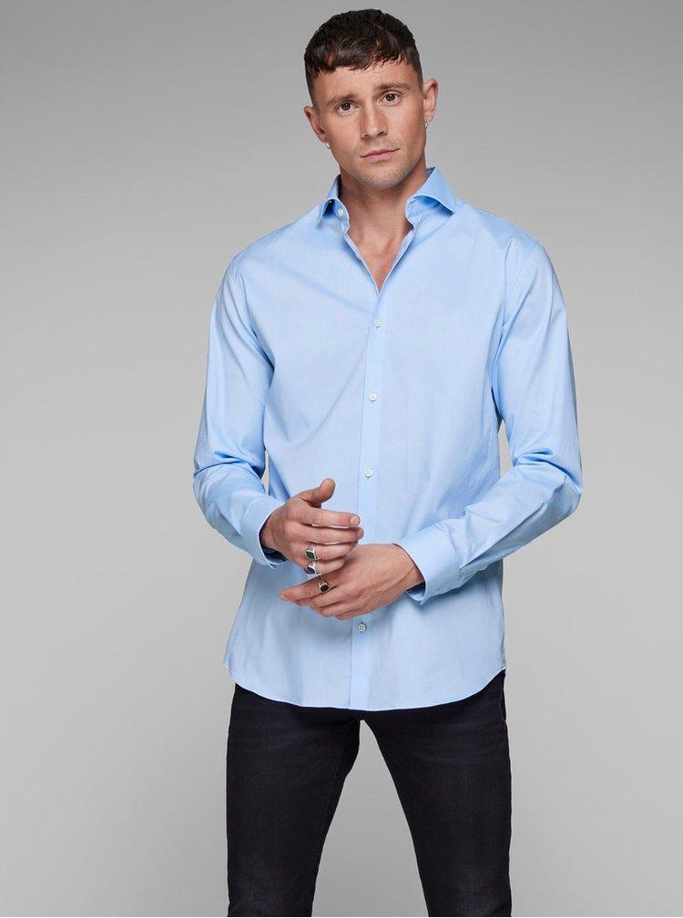 Světle modrá comfort fit košile Jack & Jones Comfort