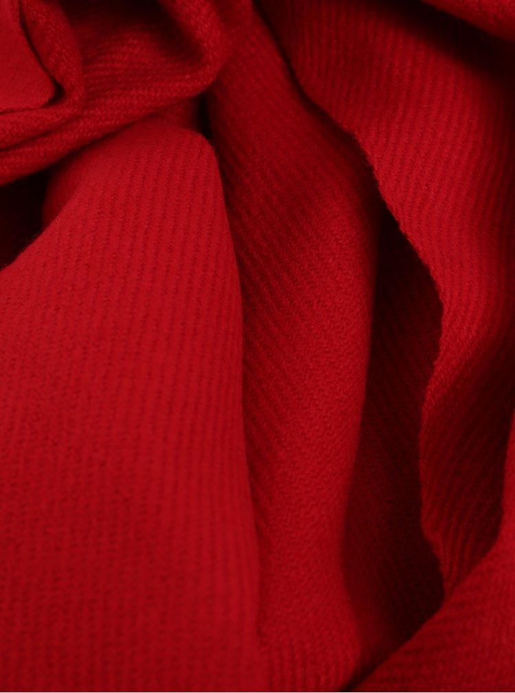 Červená šála Jack & Jones