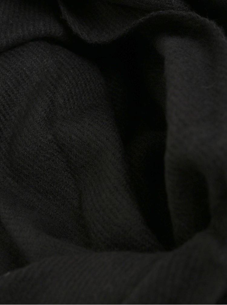 Fular negru Jack & Jones