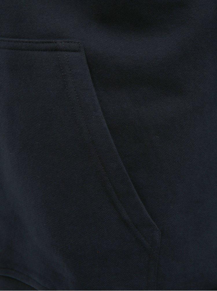 Modrá pánská mikina s potiskem a výšivkou HELLY HANSEN