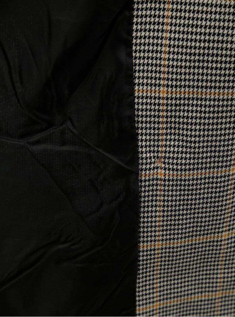 Šedé vzorované oblekové sako VERO MODA Laja