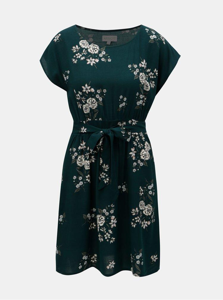 Rochie verde cu model Apricot
