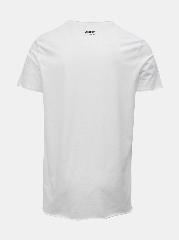Biele pánske tričko s potlačou ZOOT Original Trendsetter