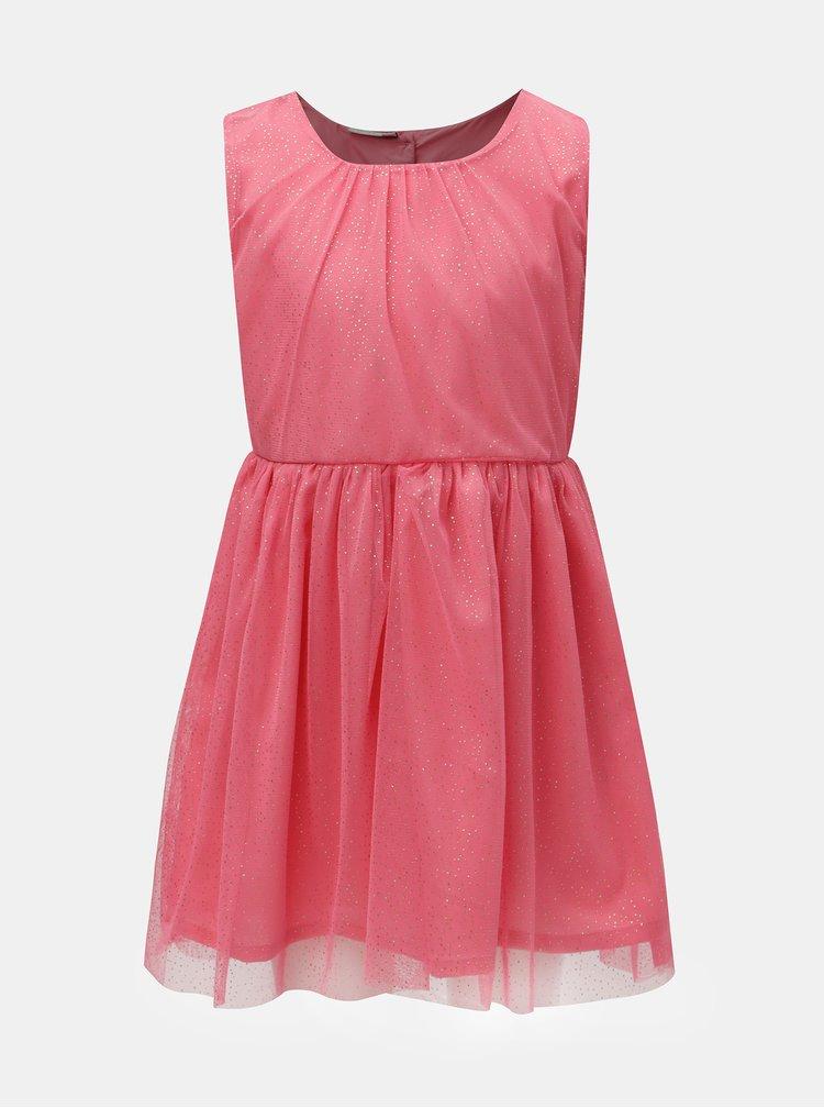 Ružové vzorované šaty Name it Fisla