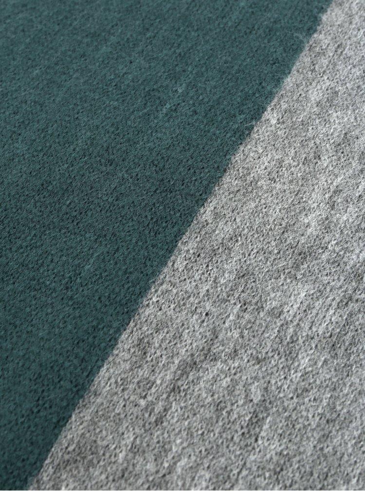 Fular gri-verde ONLY