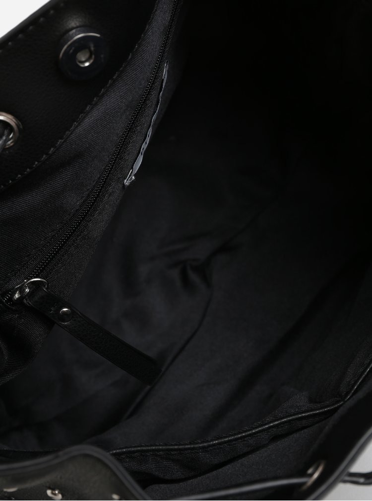 Černá kabelka Pieces Kamille
