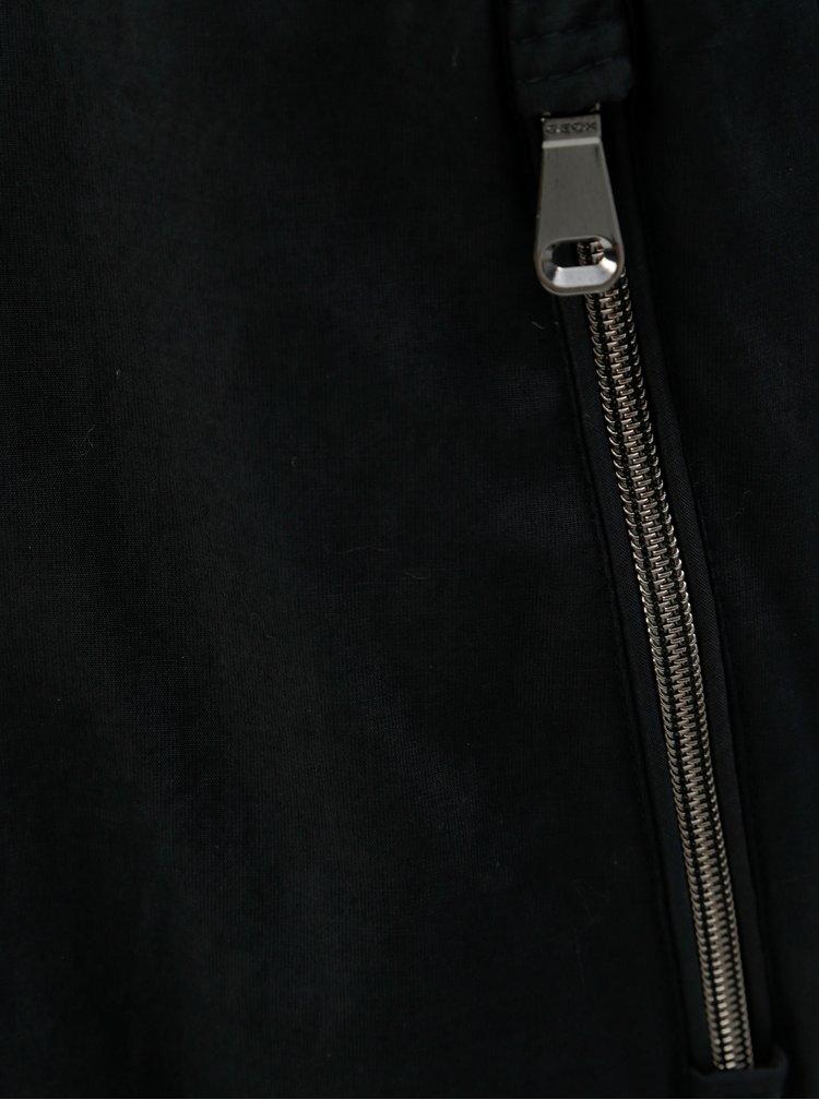 Jacheta barbateasca albastra de iarna Geox