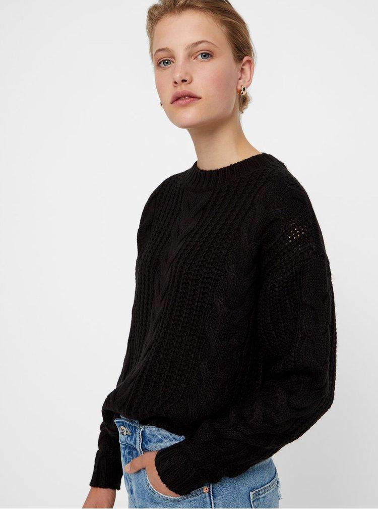 Černý volný svetr VERO MODA